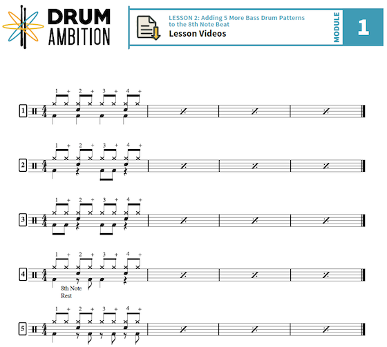 Lesson - Simon DasGupta - Adding Bass Drums To Your First