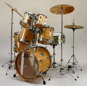 Mike dolbear drums vintage view rogers for Classic house drums