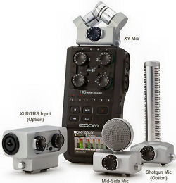 zoom h6 and q8 recorders mike dolbear. Black Bedroom Furniture Sets. Home Design Ideas