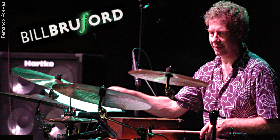 Bill Bruford Interview